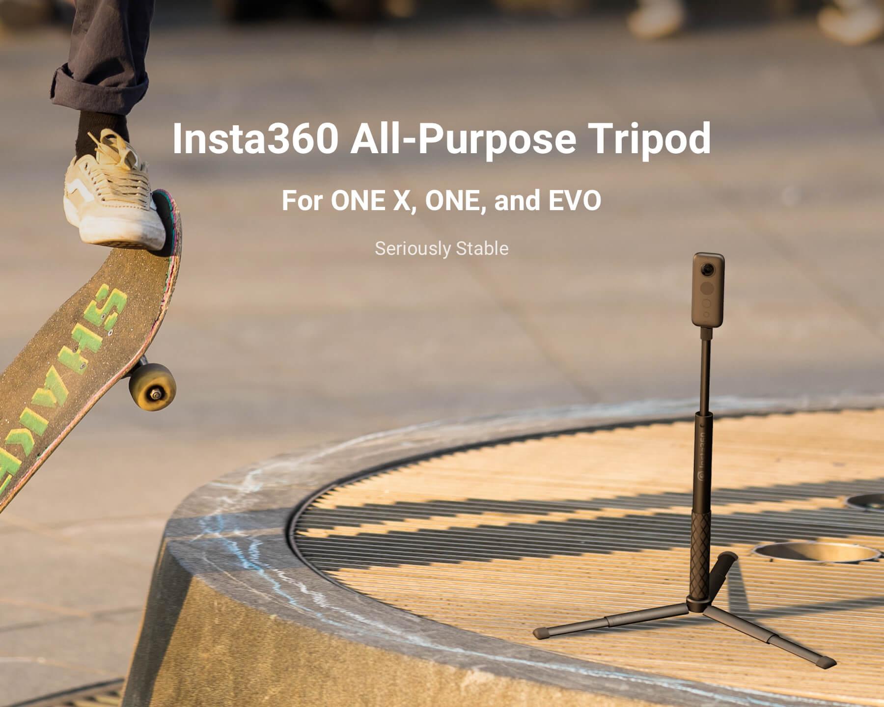 Znalezione obrazy dla zapytania insta360 all purpose tripod