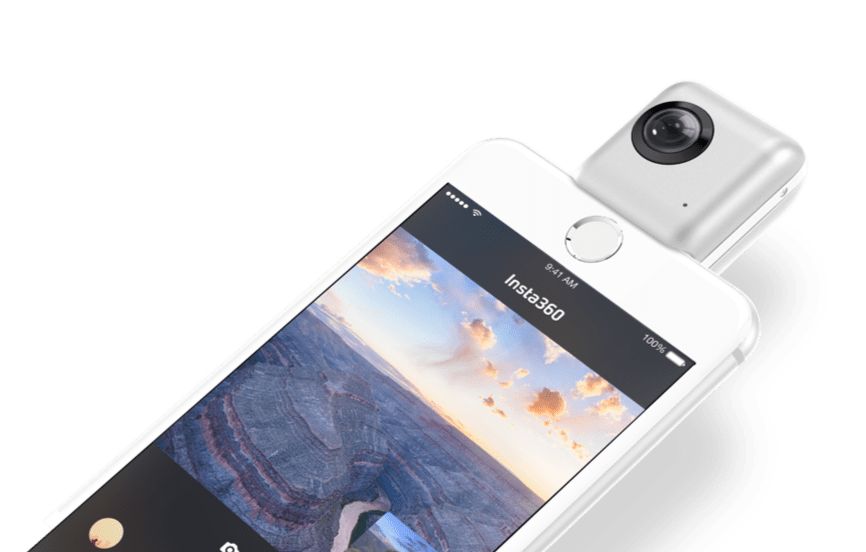 Insta360 Nano - Turn your iPhone into a 360° VR camera