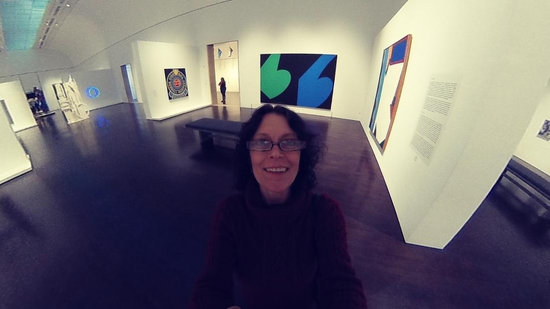 #Insta360 camera fun. Blanton Museum of Art, Austin. Top private event spot. Click link, scroll right and left & imagine ... s.insta360.com/p/a3304002f7ee… - Insta360